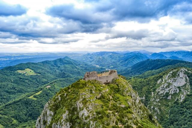 Montsegur last Cathar stronghold