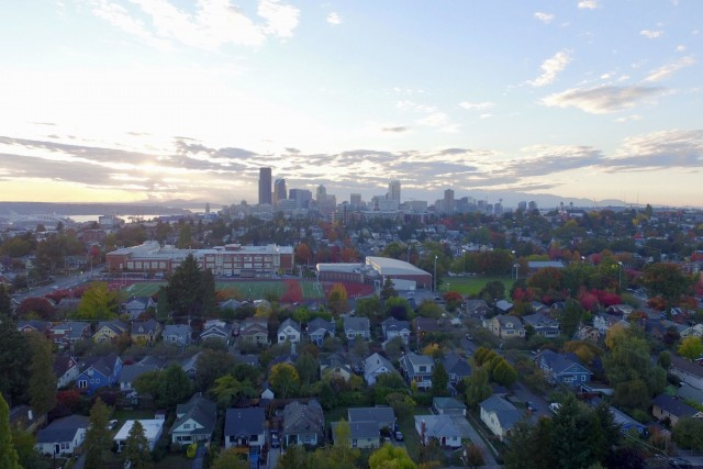 Madion Valley, Seattle, Fall 2018