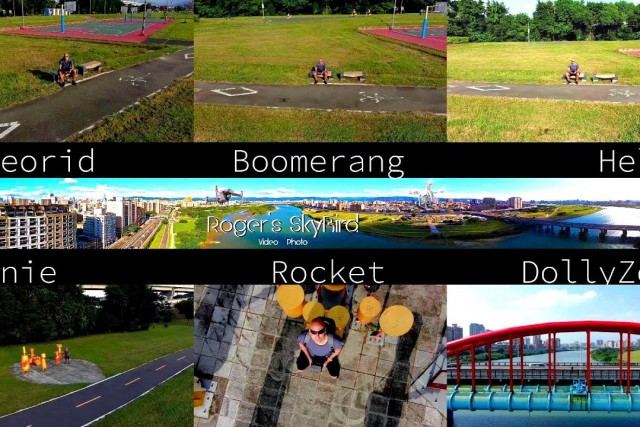 QuickShots – Asteorid Boomerang Helix Dronie Rocket DollyZoom with Mavic 2 Zoom