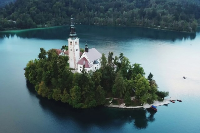Slovenia by Drone 2018