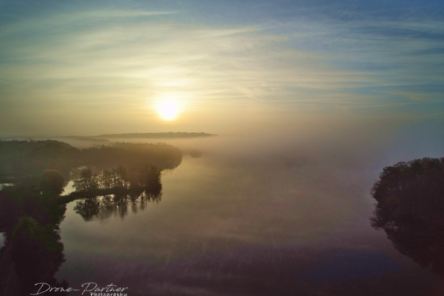 Foggy sunset @ DeWijers – Land of 1001 ponds – Limburg – Belgium