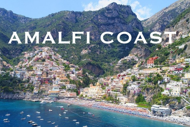 The amalfi coast / P4P 4K