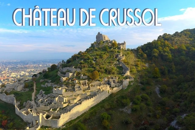 The Crussol Castle in France