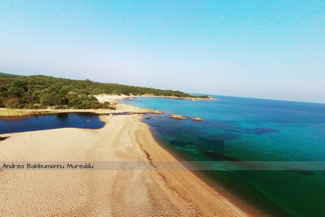 Beach of Vignola ( Sardinia )