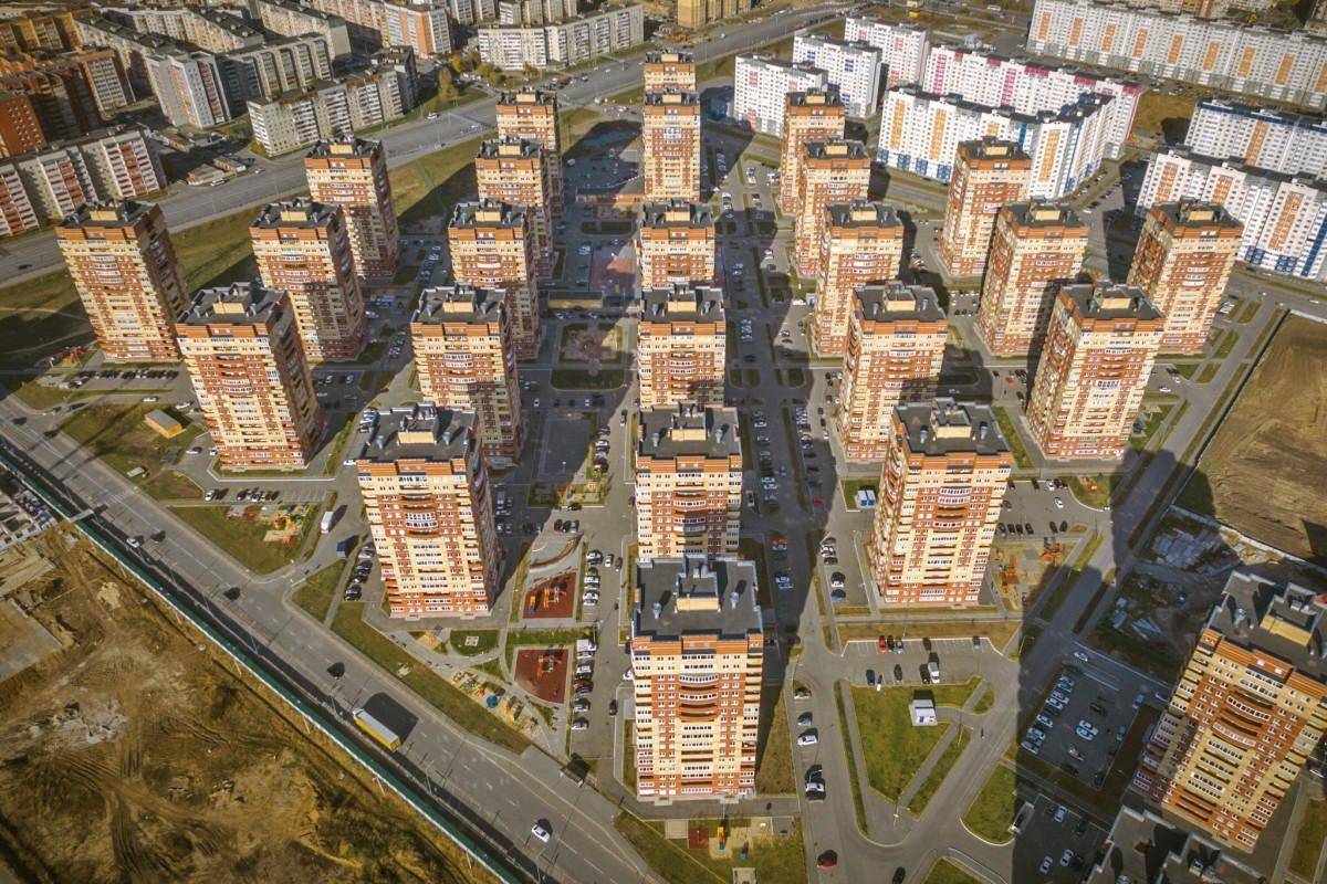 New quarter of the city