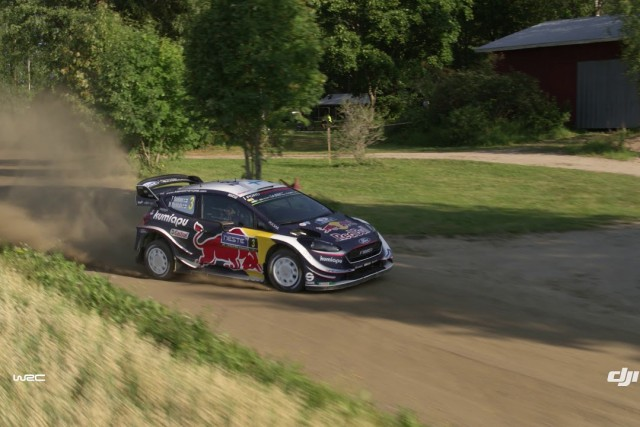 DJI – WRC – Finland 2018