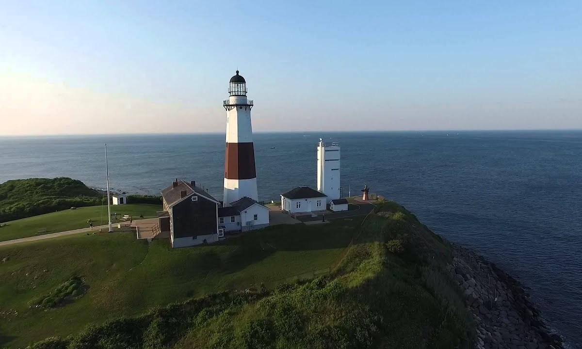 Drone video Montauk NY