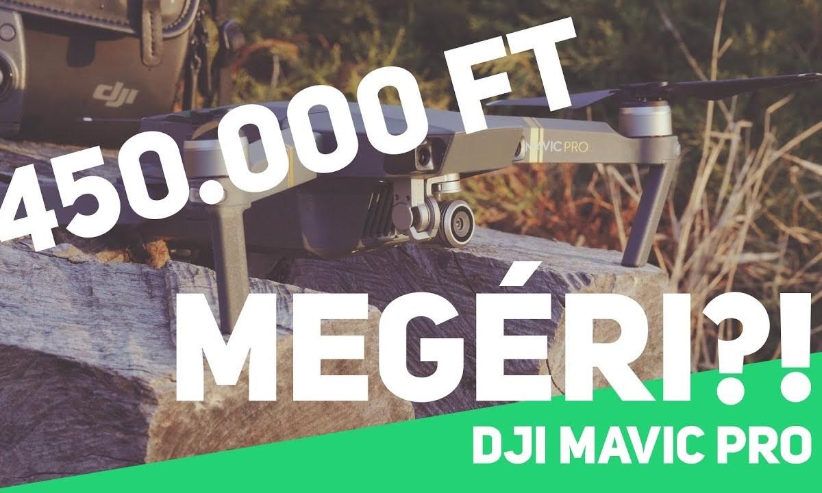 DJI Mavic Pro fél év után – Tartós teszt