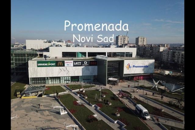 Promenada * Novi Sad * /  Dji Mavic Pro – video from the air