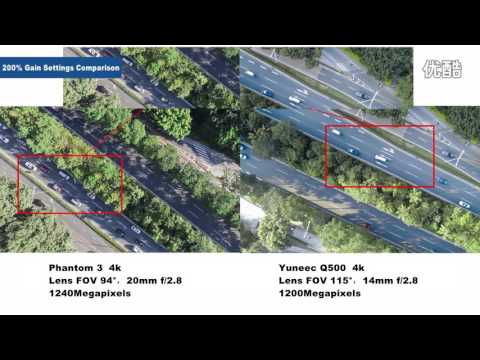 DJI's Phantom 3 4K compare with Yuneec's Q500 4K