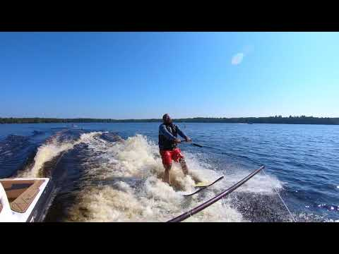 Blind Army Veteran Waterskis!