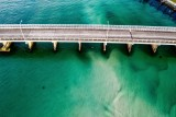 Bridge over Turquoise Water