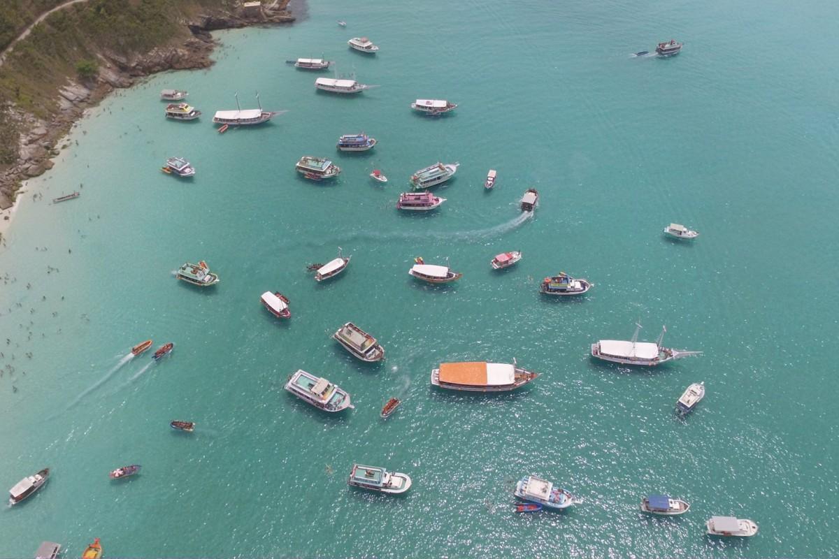 Barcos Arraial de Cabo RJ