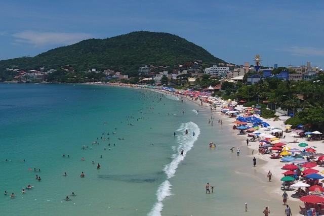 Bombinhas Beach, SC, Brazil