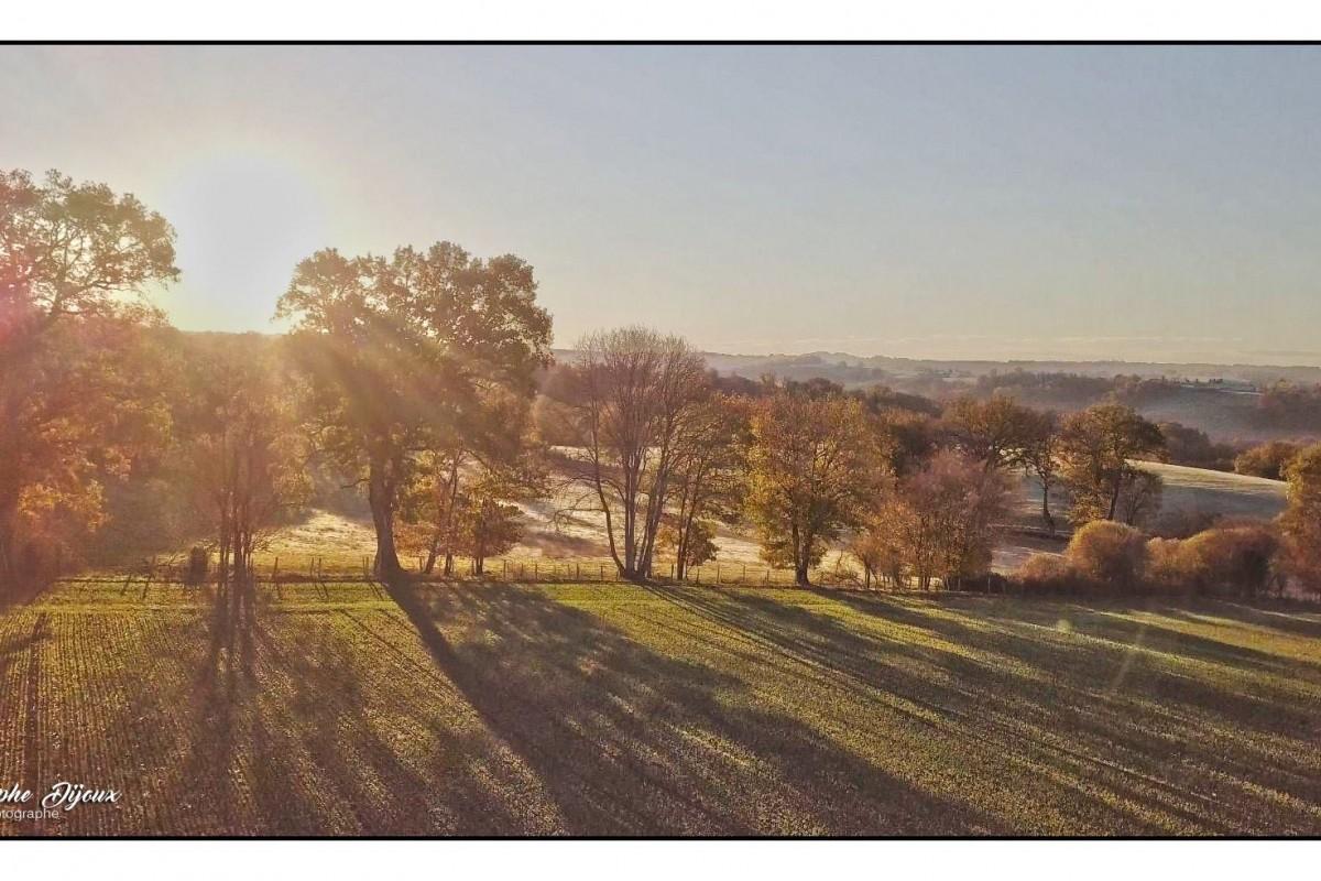 Couleurs d'hiver en Limousin