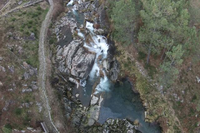 Tamuxe river, Pozo del Arco, Burgueira, Spain