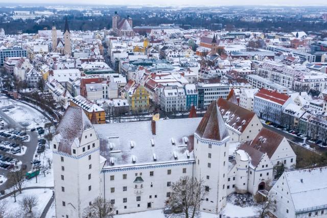 Neues Schloss / Altstadt Ingolstadt – mavic2 pro