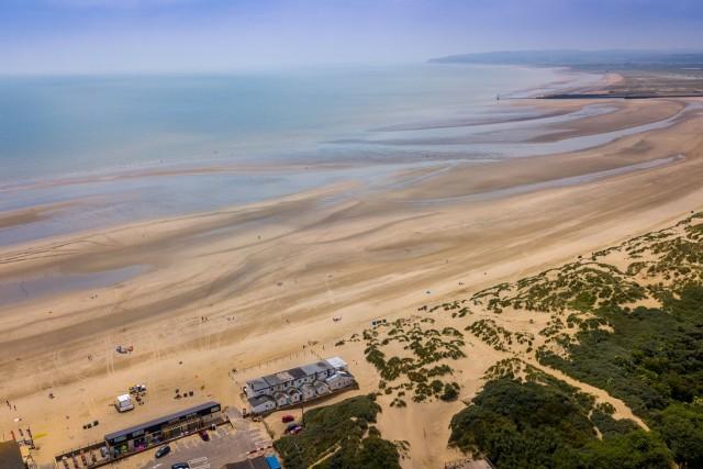 Camber Sands beach, Kent