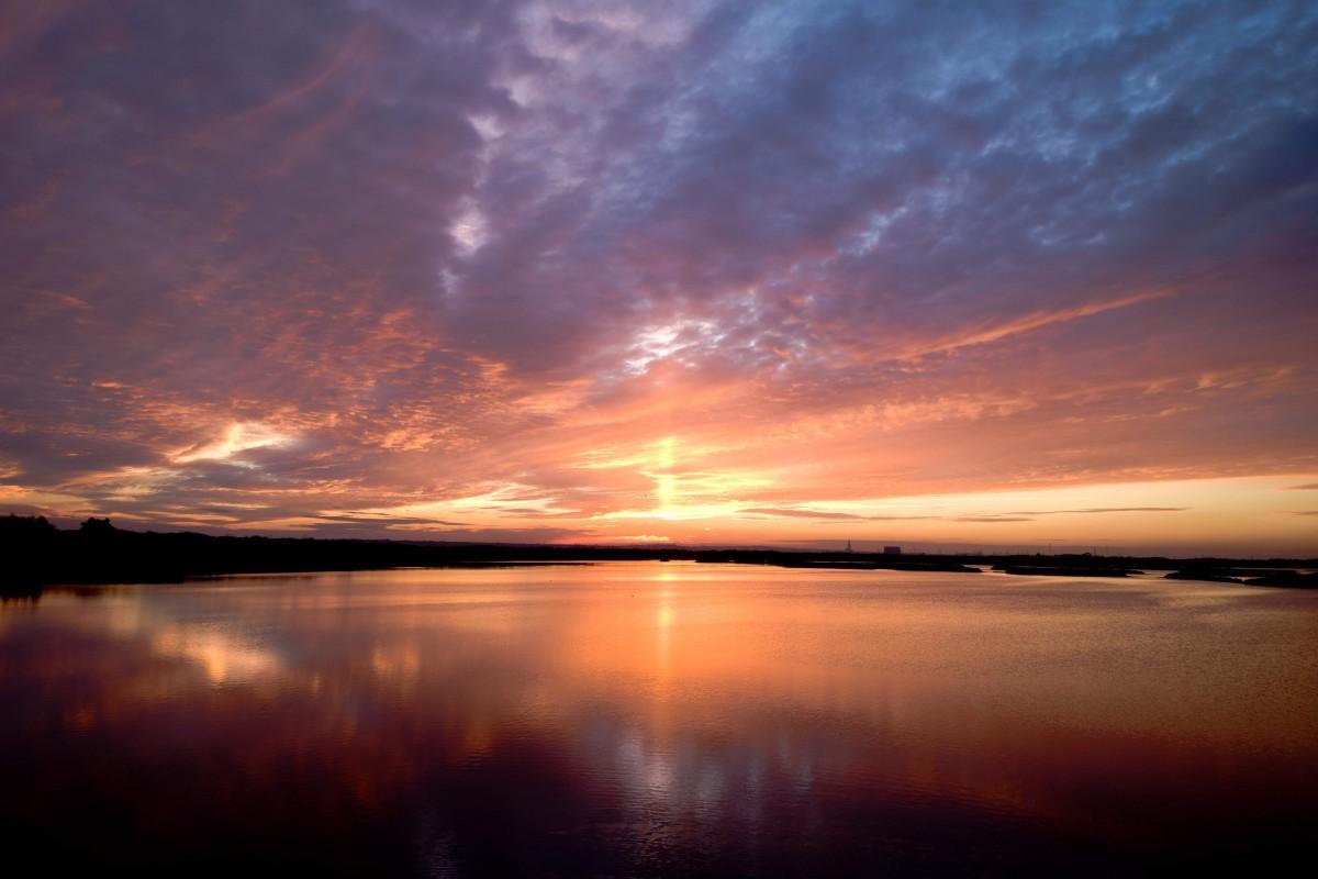 Winter Sunset in Kent