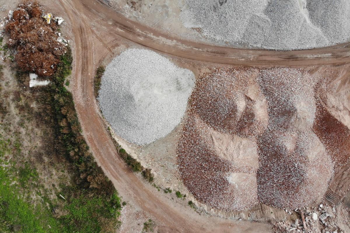 quarry – gravel pit in bavaria