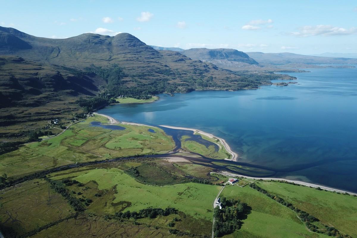 Loch Torridon and Applecross peninsula