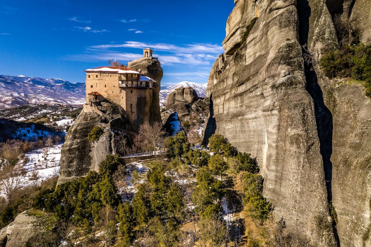 St Nicolaos Anapafsas, Meteora, Greece