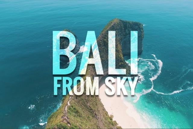 Bali From Sky [4K]