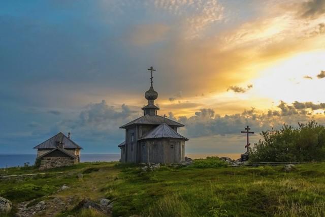 Big Zayatsky island. Solovetsky archepilag