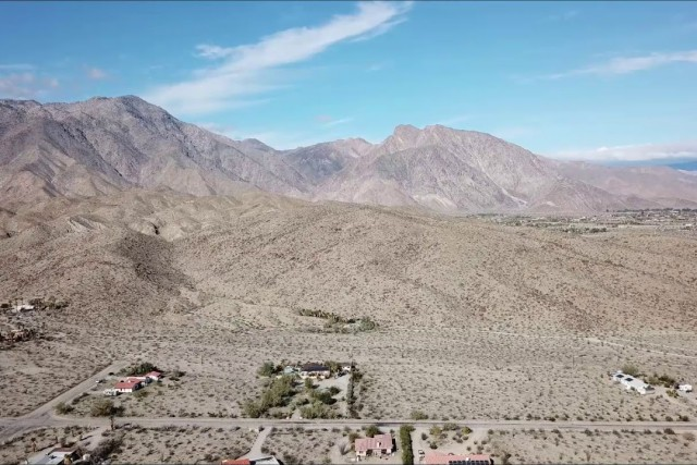 Borrego Palms by air