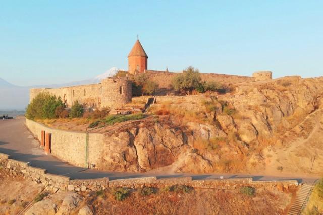 Khor Virap monastery. Armenia