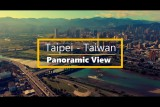 Panoramic View of Taipei – Taiwan – Made with Mavic 2 Zoom