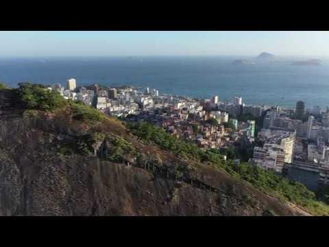 Rio de Janeiro aereal view