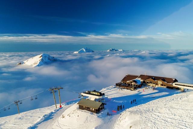 Skiing Monday in Switzerland