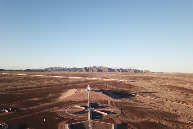 Droning over the desert
