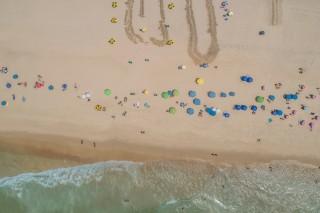 An amazing Capacabana beach, Rio de Janeiro