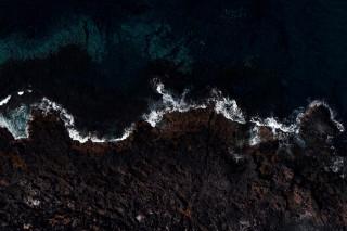 Calmaria no Mar de Lanzarote