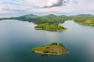 Lake Plastira, Central Greece