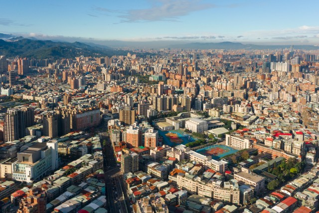View of Taipei