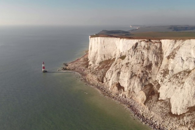 Beachy Head. 4K DJI Mavic Air.