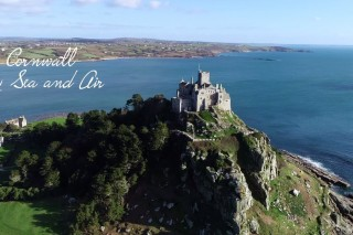 Cornwall Drone Footage by Sea and Air 4K