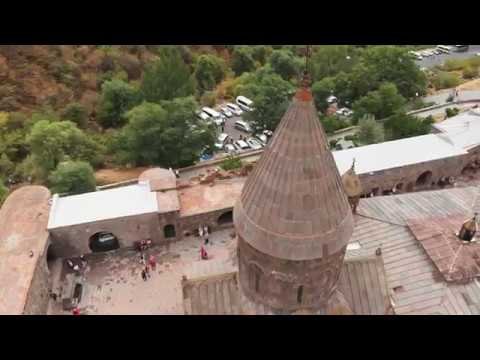 Geghard is one of the most famous monasteries in Armenia.