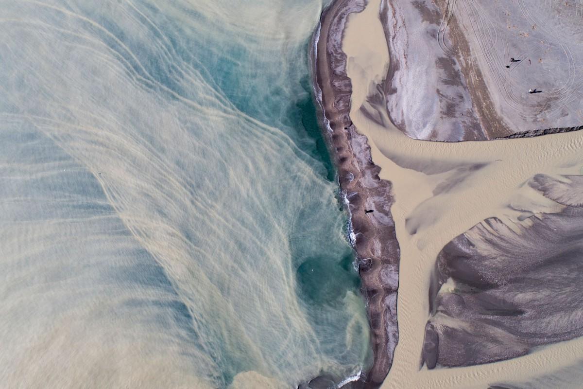 the mouth of Alcantara river