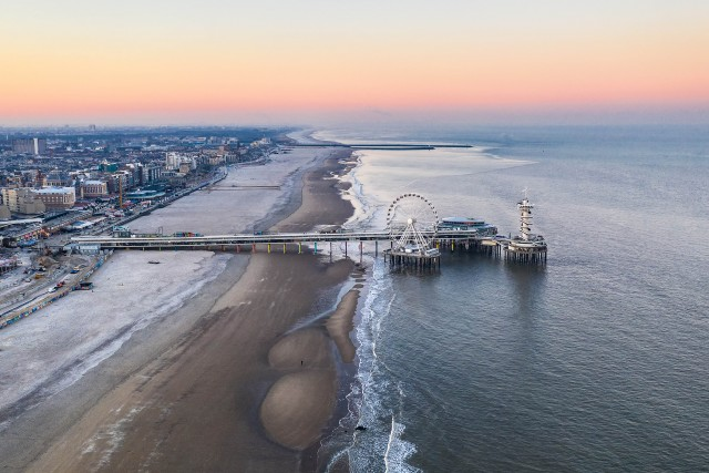 The pier of Scheveningen in The Hague!