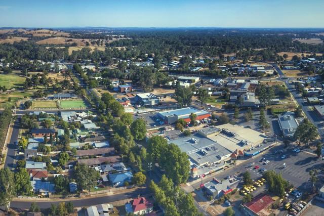 Beautiful views of Seymour, Victoria