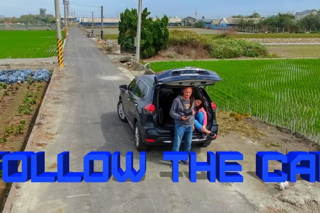 Follow the car – QuickShot Follow Me with Mavic 2 Zoom
