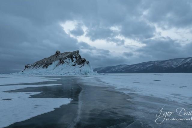 Lake Baikal. Russia. Izhilhei Island