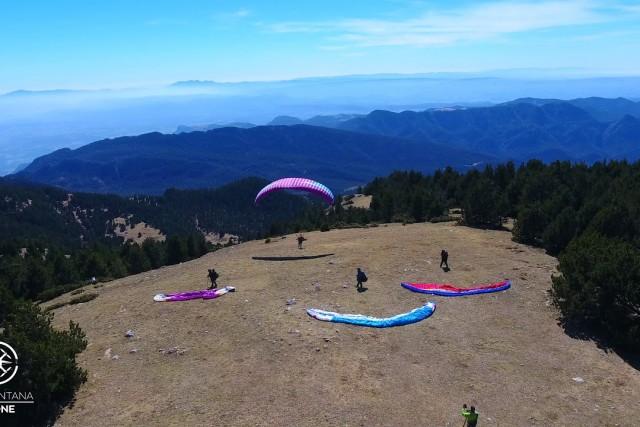Tramuntana Drone: Paragliding