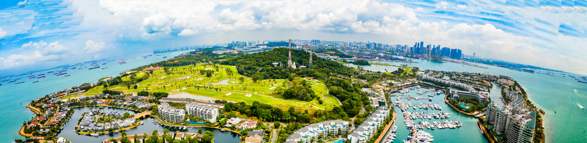 Sentosa Island Singapore – Panoramic Spherical View