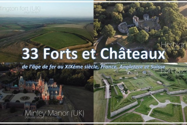 33 Forts & Castles from above…