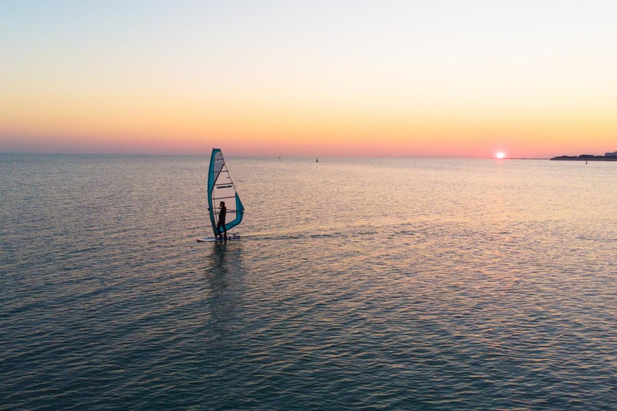 Planche à voile à La Rochelle